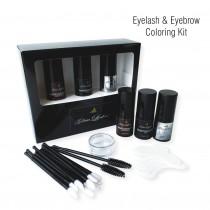 Eyelash & Eyebrow Coloring Kit