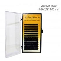 Mink MIX D-Curl 0,07 x 8/9/10/11/12/13/14 mm