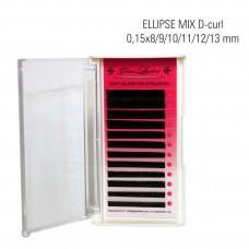 Mink ELLIPSE MIX D-Curl 0,15x8/9/10/11/12/13 mm