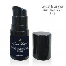 Eyelash & Eyebrow Blue Black Color 5 ml - pump bottle