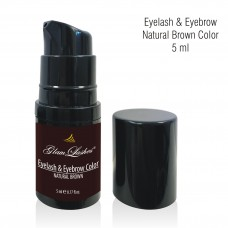 Eyelash & Eyebrow Natural Brown Color 5 ml - pump bottle