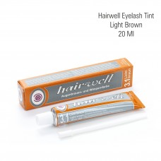 Hairwell eyelash tint light brown 20 ml