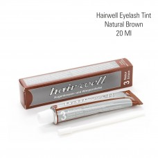 Hairwell eyelash tint nat. brown 20 ml