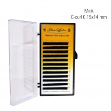 Mink 0,15 x 14 mm, C-Curl