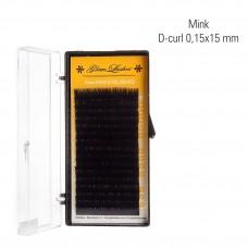 Mink 0,15 x 15 mm, D-Curl