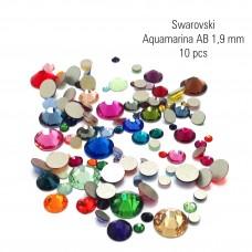 Swarovski aquam AB 1,9 mm