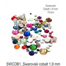 Swarovski cobalt 1,9 mm