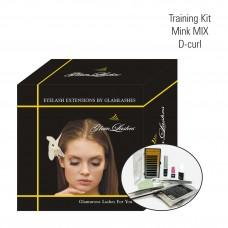 Training Kit, D-curl Mink MIX